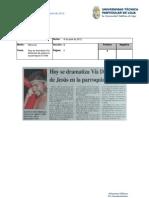 Informe de prensa del 5 al 12 de abril de 2012