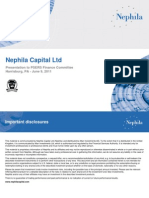 NEPHILA - PSERS Presentation Revised