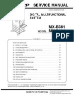Users Manual MX-B401