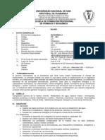 Silabus Bioquimica i Farmacia 2011