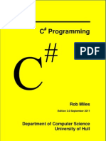 Rob Miles CSharp Yellow Book 2011