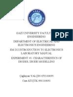 Elektronik Deney 1