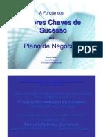 A Função dos Fatores Chaves de Sucesso no Plano de Negocios-artigo