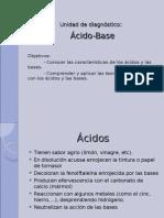 Clase 1 Acido Base