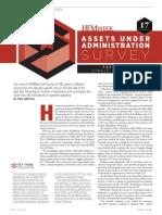 HFM Week SMF AUA Survey - November 2011