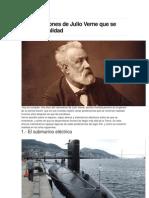 10 Predicciones de Julio Verne Que Se Hicieron Realidad