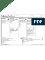 Business Model Canvas Cheat Sheet