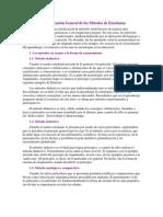Clasificación General de los Métodos de Enseñanza