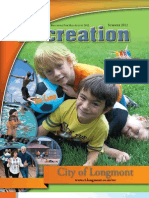 Longmont Recreation Summer 2012 Brochure