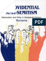 A providential anti-semitism. Nationalism and polity in 19-th century Romania