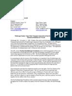 Ben Roethlisberger Foundation Press Release- Baltimore County Police