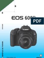 Manual de Utilizare Canon 600D