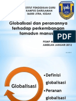 Globalisasi Dan Peranannya Terhadap Perkembangan Tamadun Manusia