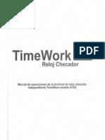 TimeWork - Manual