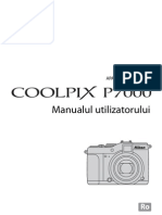 Manual de Utilizare Nikon P7000