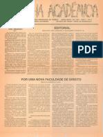 Jornal Banana Canalha. Ed. abril/maio de 1991.