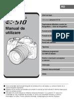 Manual de Utilizare Olympus E-510