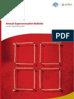 June 2011 Annual Superannuation Bulletin