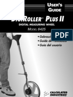 DigiRoller Plus II Model 6425 Users Guide