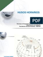 Presentación3 - TERCER clase HUSOS HORARIOS_2012
