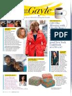 The World According to Gayle - O Magazine February 2012
