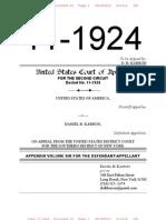 11-1924 Appendix Volume 06 for the Defendant-Appellant Karron