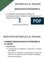 Cambios Hematologicos Posteriores Al Trauma
