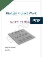 Gene Cloning 2