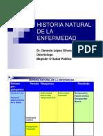 Clase 2 Enfermeria Historia Natural de La Enfermedad