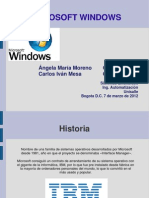 Presentacion S.O. Windows