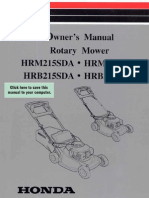 Honda Hru215 Mower Manual - Wasp Bee Removal Call 0423688352 Sydney
