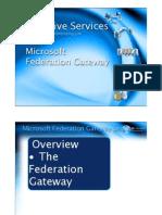 03-Federation Gateway Service
