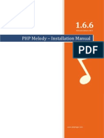 Installation Manual - PHP Melody