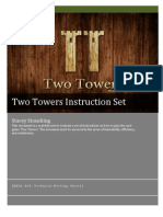 Document Usability Test for Two Towers (Cardgame) Website