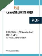 Proposal Mpls VPN Profab