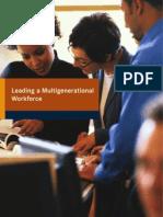 Leading a Multigenerational Workforce