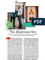 Mushroom Men - O Magazine April 2012