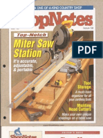 Crafts - Woodworking - Magazine - (eBook) - Shopnotes #058 - Miter Saw Station