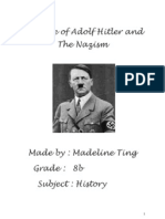 The Rise of Adolf Hitler and the Nazism