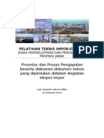 Bahan Bacaan Ekspor - Import INSA