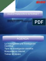 Investigacion e Internet 1 Pptx