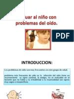 Evaluar al niño con problemas del oído