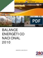 Balanceenergeticonacional2010 Paraguay