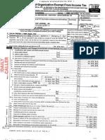 RIAA 2002 Tax Return