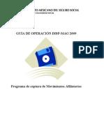 Guía de Operación DISPMAG2009 v1.2