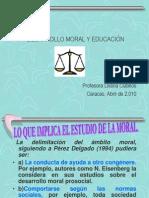 Desarrollo Moral y Educación