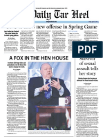 The Daily Tar Heel for April 13, 2012