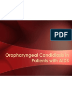 Oropharyngeal Candidiasis in Patients With AIDS
