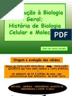 1- Origem e Evolucao Das Celulas