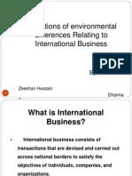Ibp Enviromental Factors